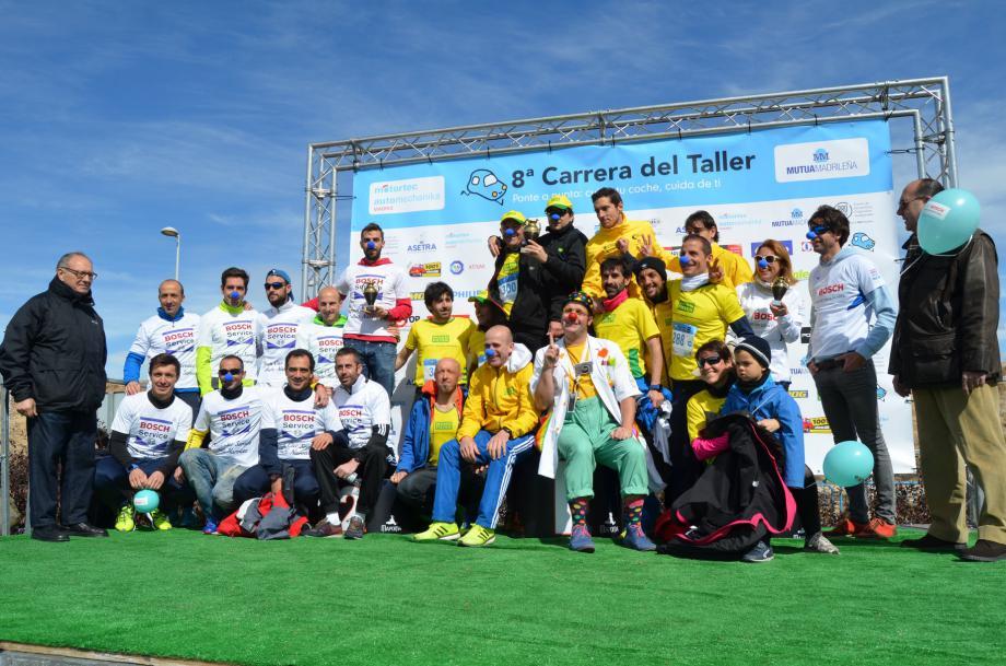 MANN-FILTER ganador absoluto en la VIII edición de la Carrera del Taller en 5Km, 10Km y como empresa