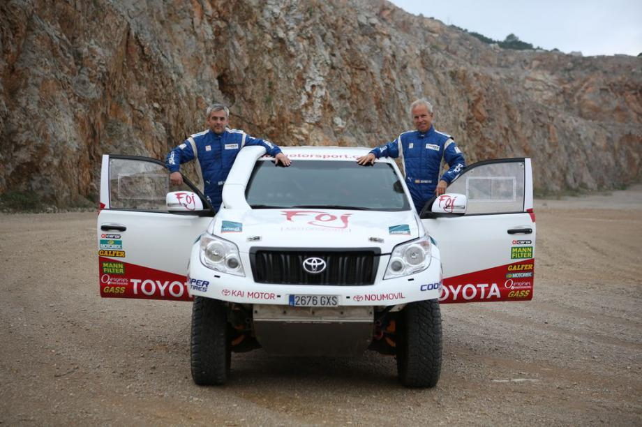 MANN+HUMMEL IBÉRICA renueva su patrocinio al  piloto Xavier Foj en el Rally Dakar 2019